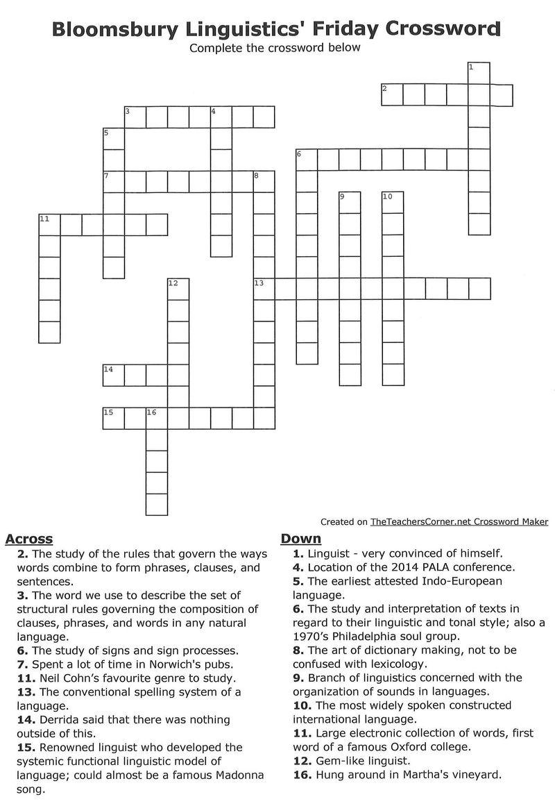 Crossword